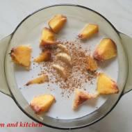 Owoce z mlekiem kokosowym (Płatki na AIP)