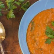 Arabska zupa z czerwonej soczewicy