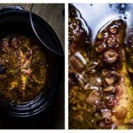 Ośmiornica w oliwie z wolnowara