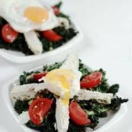 Sałatka obiadowa z jarmużem/ Dinner salad&kale