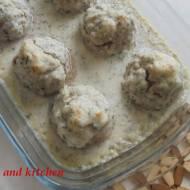 Pulpety z sosem koperkowym (bez jajek, nabiału, AIP)