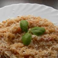 Risotto pomidorowe (bezglutenowe + wersja wegańska)