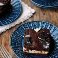 Serniko-brownie z Oreo…