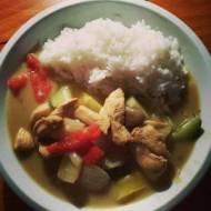 Tajskie zielone curry (Thai green curry)