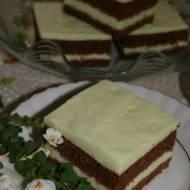 Ciasto czekoladowe z agrestową pianką