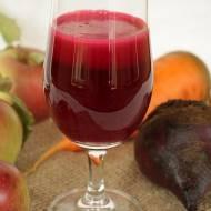 sok z buraka, marchewki i jabłek
