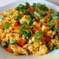 Kurczak curry z warzywami i kaszą jaglaną