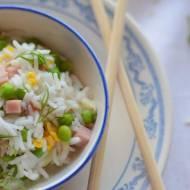 Ryż smażony po kantońsku i test woka Ballarini