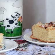 Ciasto drożdżowe ze śliwkami i kruszonką.