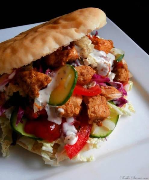 Przepis Na Domowy Kebab (Kebab Z Kurczaka)