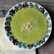 kremowa zupa jarmużowa z fasolą