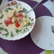Sos biały do ryżu babci Basi