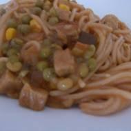Wieprzowe (nie mielone) spaghetti