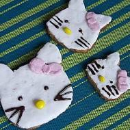 Pełnoziarniste ciastka Hello Kitty