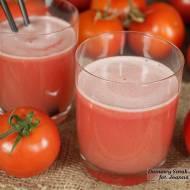 sok pomidorowy z sokowirówki