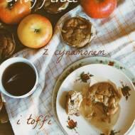 Jaglane muffinki z jabłkiem i toffi