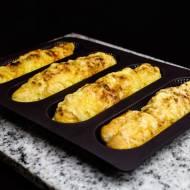 Mini bagietki z żółtym serem