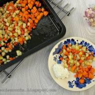 Pieczone warzywa z ziołami - pyszne