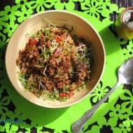 Potrawka z soczewicy i quinoa