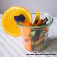 Słodko-ostre marchewki w parowarze