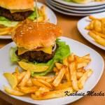 Pikantne burgery z kaszą jaglaną