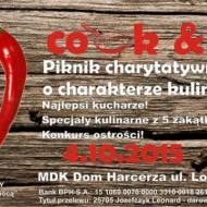 """COOK&HELP """"PIEKIELNA KUCHNIA DLA LEOSIA"""" – piknik charytatywny"""