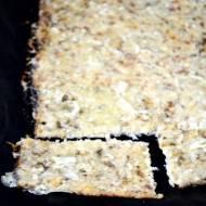 Kalafiorowo-czosnkowy chlebek z serem