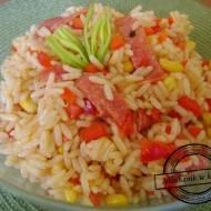 Sałatka węgierska z ryżem