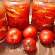 Sałatka z Czerwonych Pomidorów na Zimę