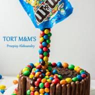TORT 3D Z M&M'S (zdjęcia krok po kroku)