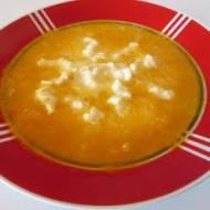 Zupa dyniowa z zacierką