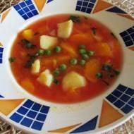 Zupa pomidorowo- dyniowa