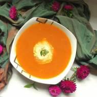 Zupa krem z bakłażanów i papryki