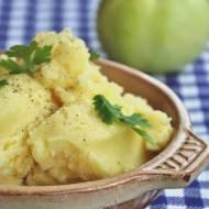 Pure ziemniaczane z jabłkiem i skórką cytryny