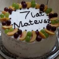 Tort śmietanowy