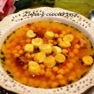 Zupa z ciecierzycy 2