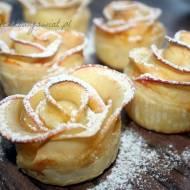 Ciastka jesienne róże