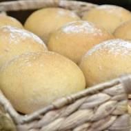 Bułki orkiszowo-pszenne na pâte fermentée