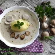 Zalewajka z grzybami - Regionalne smaki. Październik