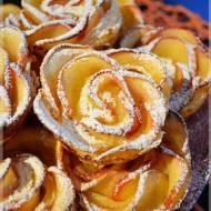 Jabłkowe róże w cieście francuskim