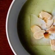 Zupa krem brokułowa z serkiem topionym