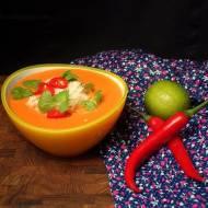 Rozgrzewający krem curry