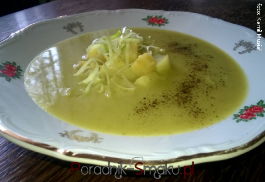Brokułowo ziemniaczana zupa krem