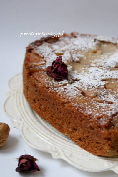 Przepis Na Ciasto Imbirowe Z Gruszkami Proste Potrawy