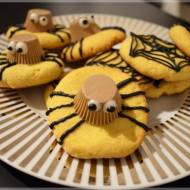Halloweenowe ciastka pająki