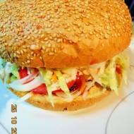 Hamburgery GIGANTY z wołowiny.