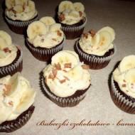 Muffinki czekoladowo-bananowe według Nigelli (przepis zmodyfikowany)