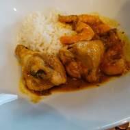 Xinxim - tradycyjna potrawa brazylijska z kurczakiem i krewetkami