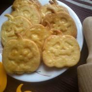 Dyniowe buźki - kruche ciasteczka z marchewką