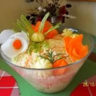Surówka z białej rzodkwi z selerem